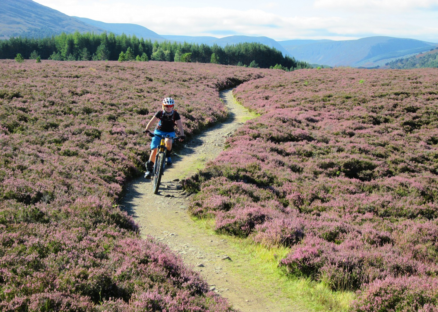 Scoția pe bicicletă - pe cărare