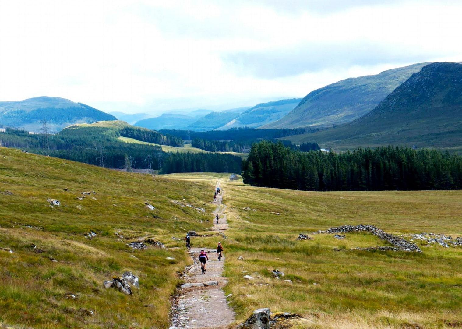 Scoția pe bicicletă