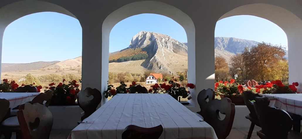 La masă în Munții Trascău