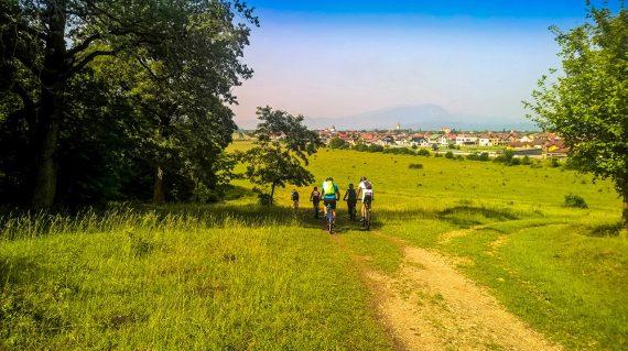 Cross country mountain biking in Brasov