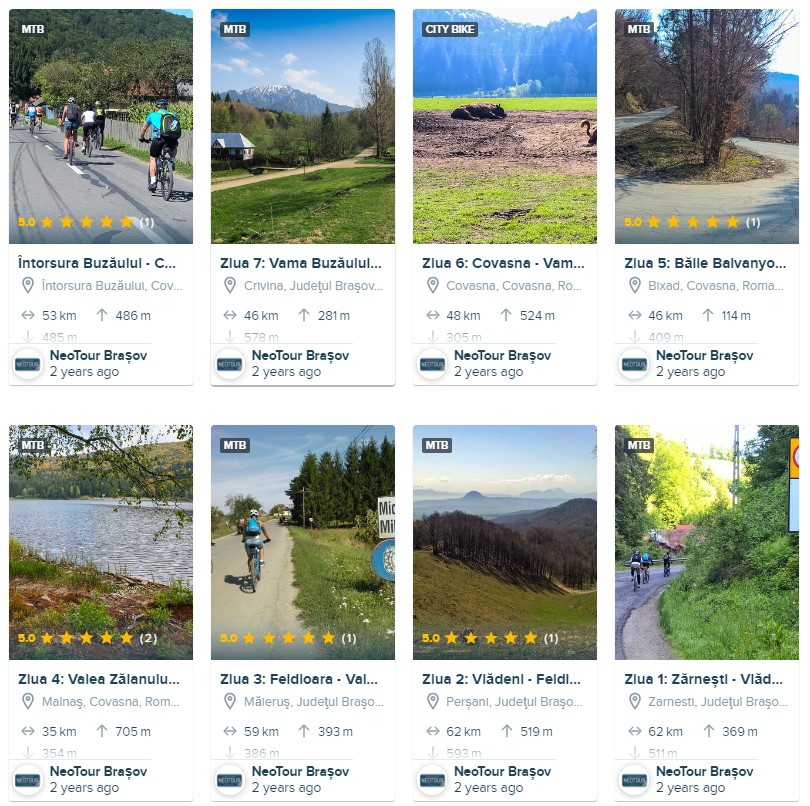 Cum pregătesc tura cu bicicleta - alegerea traseului
